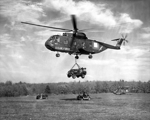 מסוק ה-HH3, אבי היסעור, צילום: USAF