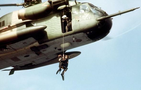 חילוץ ממסוק CH53 אמריקאי, צילום: USAF