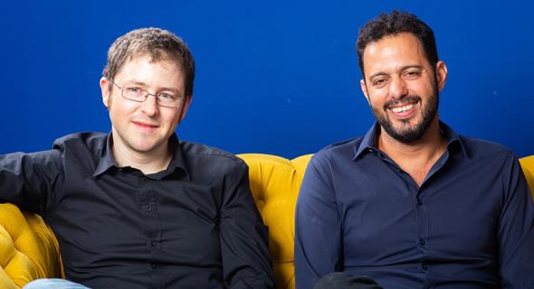 Augury founders Saar Yoskovitz and Gal Shaul. Photo: Augury