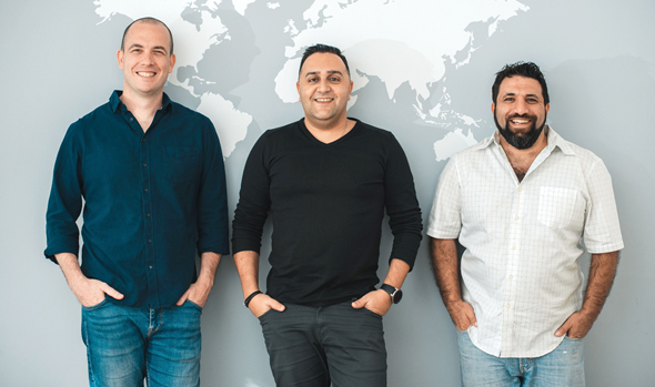 Dataloop co-founders Nir Buschi (left), Eran Shlomo, and Avi Yashar. Photo: Dataloop