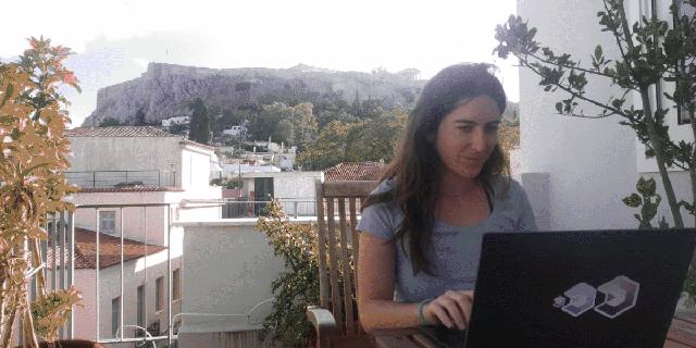 אופיר הרפז, גארדיקור, עובדת מאתונה, צילום: עידו ידלין
