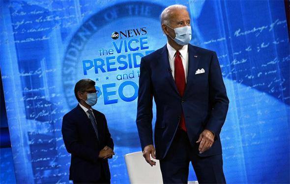 המועמד הדמוקרטי ביידן, צילום: איי אף פי