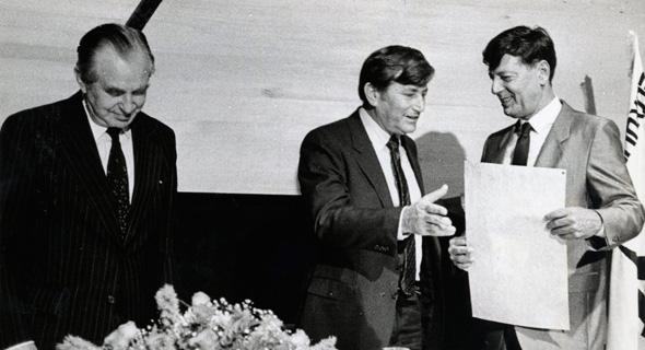 """יו""""ר שטראוס לשעבר מיכאל שטראוס 1, צילום: יח""""צ שטראוס"""