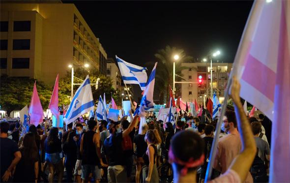 המחאה בתל אביב