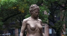 פנאי פסל המדוזה שיצר לוצ'יאנו גארבטי, צילום: איי אף פי