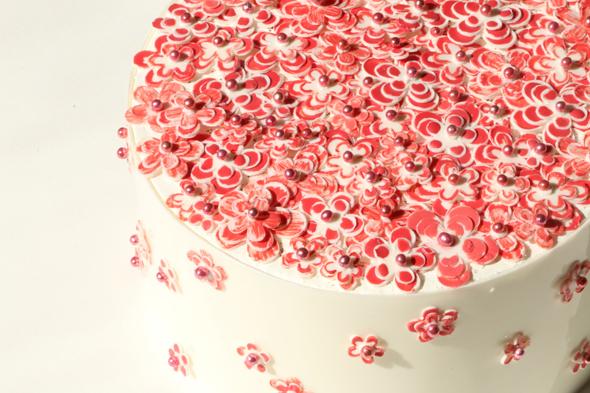 עוגה של אלון שבו בהשראת שאנל, צילום: אלון שבו