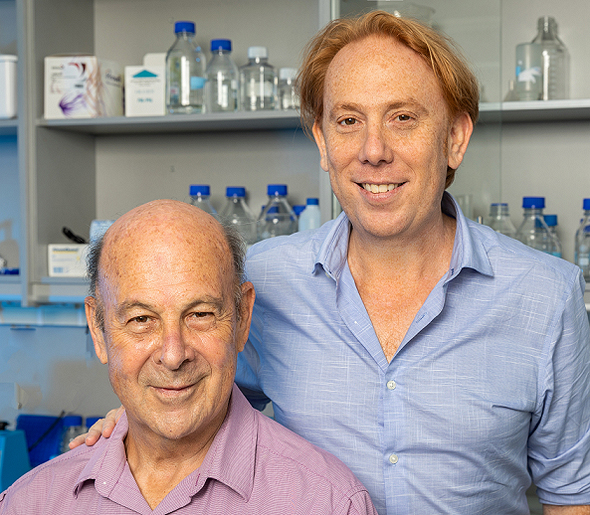 Mileutis Co-founders David and Dr. Jose Iscovich (left). Photo: Eyal Toag