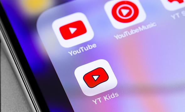 אפליקציית הילדים של גוגל - יוטיוב קידס, צילום: שאטרסטוק