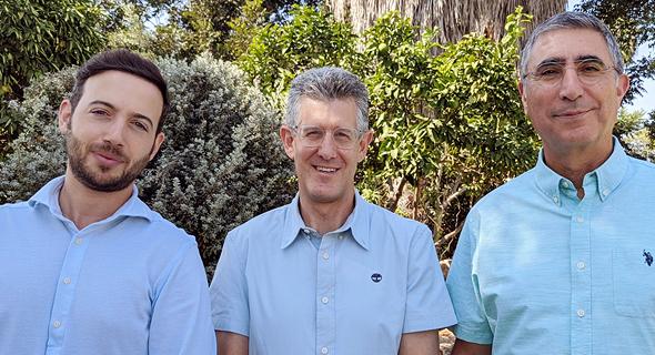 AirEye co-founders Ohad Plotnik (left), Amichai Shulman, and Shlomo Touboul. Photo: EyeAir