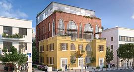 הדמיית הבניין שייבנה על המגרש במונטיפיורי, הדמיה: סטודיו בונסאי