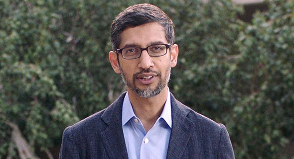 """מנכ""""ל Google גוגל סונדר פיצ'אי, צילום: גטי אימג'ס"""