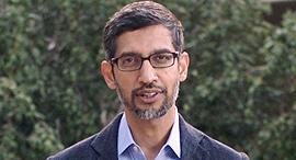 """מנכ""""ל גוגל סונדאר פיצ'אי, צילום: גטי אימג'ס"""