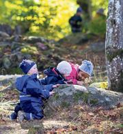 ילדים בגן יער בשבדיה, צילום: רועי דורי