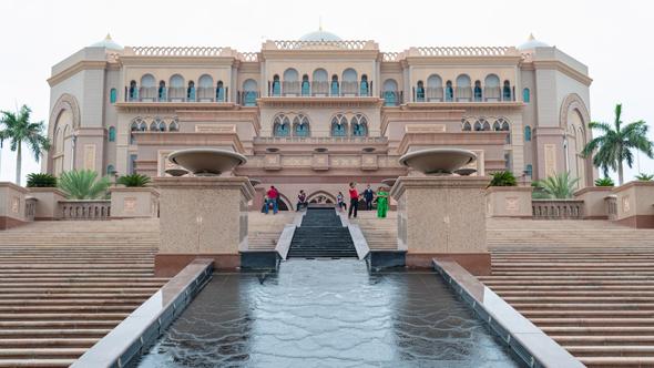 מלון Mandarin Oriental Emirates Palace באבו דאבי