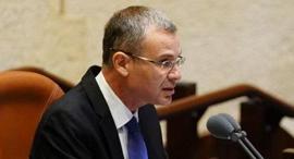 """יו""""ר הכנסת יריב לוין , צילום: דוברות הכנסת - יניב נדב"""