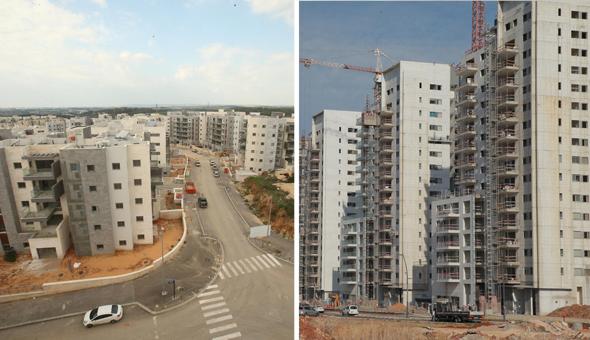 ראש העין והעיר חריש. זינוק באוכלוסייה וצניחה ברמת השירותים , צילום: אוראל כהן, אלעד גרשגורן
