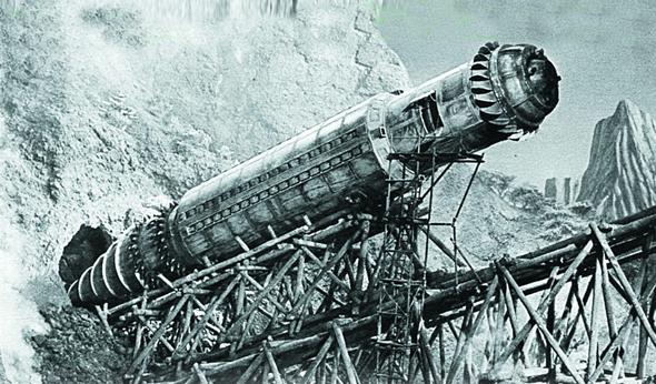 אילוסטרציית כלי רכב תת קרקעי, צילום: sony pictures