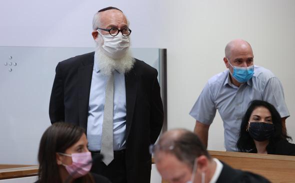 אדוארדו אלשטיין בבית המשפט, צילום: אוראל כהן