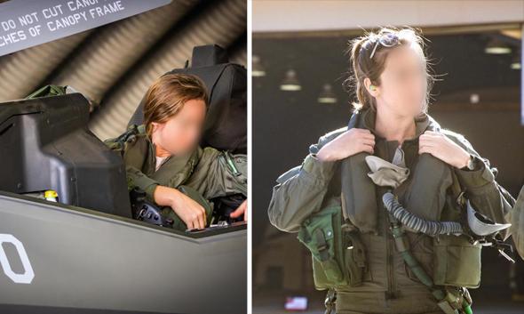 Israel's only female F-35 pilot Capt. S. Photo: IDF Spokesperson