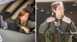 Israel's only female F-35 pilot Capt S. Photo: IDF Spokesperson