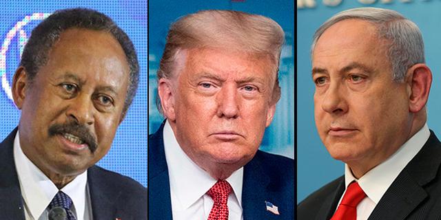 טראמפ: ישראל וסודן הסכימו על נורמליזציה