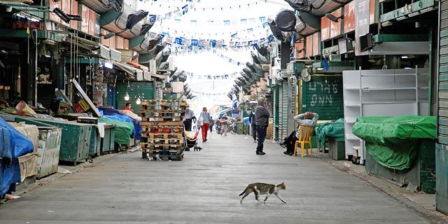 שוק התקווה סגור, צילום: ריאן פרויס