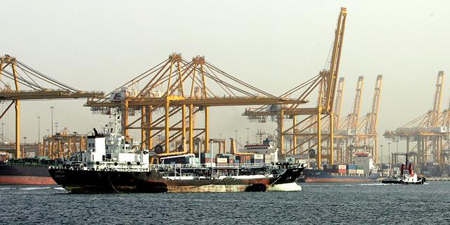 פעילות של DP World. אוניות עם קיבולת של 24 אלף מכולות, צילום: איי פי