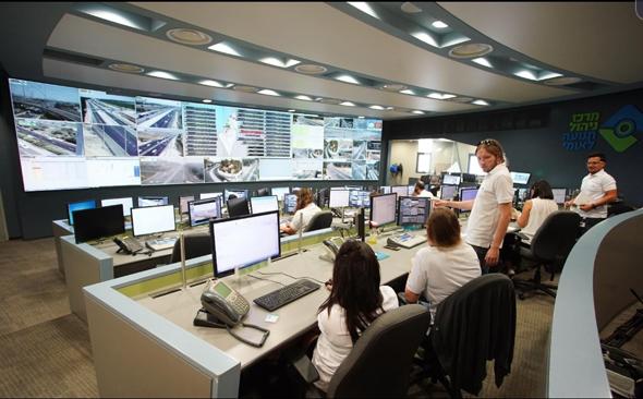 מרכז ניהול התנועה של נתיבי ישראל