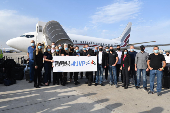Israeli high tech delegation departs for the Emirates in search of collaborations