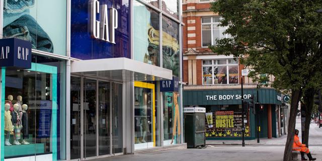 גאפ שוקלת לסגור את כל החנויות שלה בבריטניה, צרפת ואיטליה