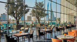 בית קפה במלון ארבע העונות בבחריין, צילום: fourseasons