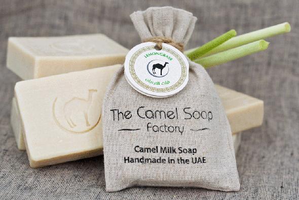 סבון מחלב גמלים, צילום: dayofdubai