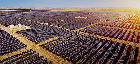 """הדמיית פרויקט סולארי של דוראל בארה""""ב"""