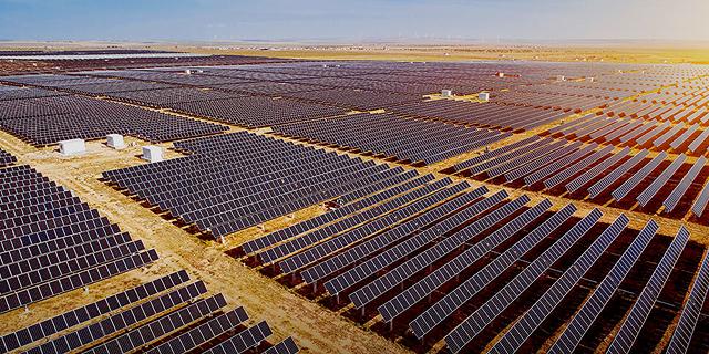 """הדמיית פרויקט סולארי של דוראל בארה""""ב, צילום מסך: אתר החברה"""