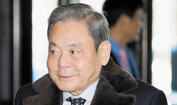 """לי קון-הי יו""""ר סמסונג מת 25.10.20, צילום: בלומברג"""