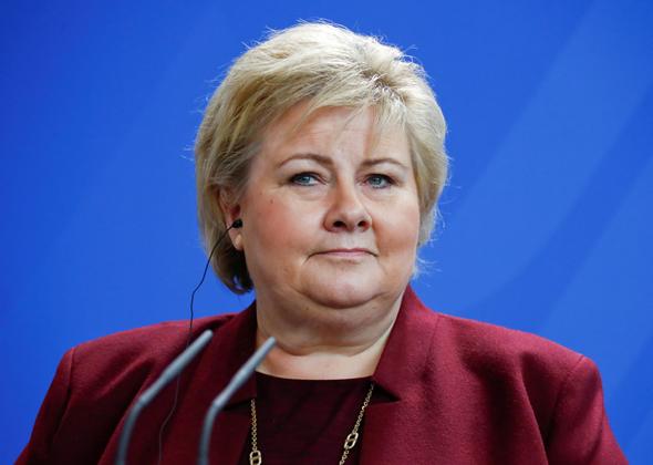 ראשת ממשלת נורביה, ארנה סולברג, צילום: ר