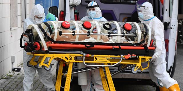 מאות מתים בצרפת ואיטליה, שיא נדבקים ביוון