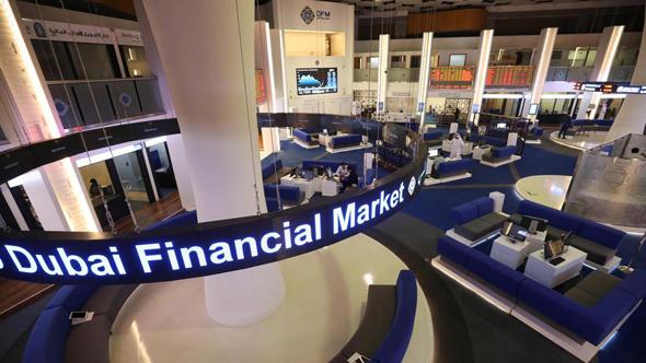 מפעילת הבורסה בדובאי דובאי פיננשל מרקט, צילום: רויטרס