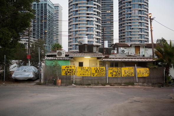 """שכונת עמל בצפון ת""""א. המשפחות חוששות ממכירת השטח ליזמים"""