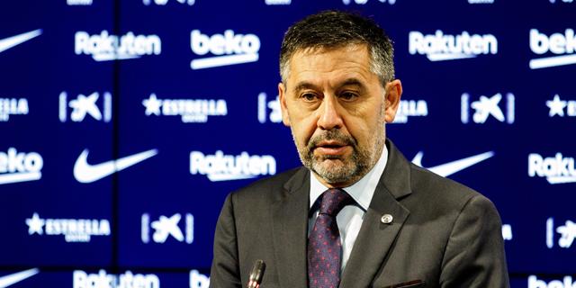 כדורגל ספרדי: נשיא ברצלונה ז'וזפ מריה ברתומאו התפטר