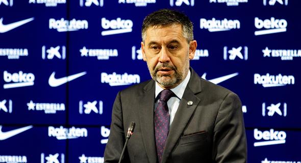 נשיא ברצלונה המתפטר ז