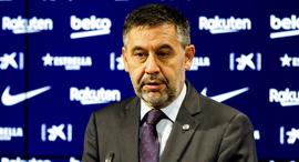 נשיא ברצלונה המתפטר ז'וזפ מריה ברתומאו, צילום: אי פי איי