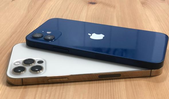אייפון 12 ואייפון 12 פרו, צילום: איתמר זיגלמן