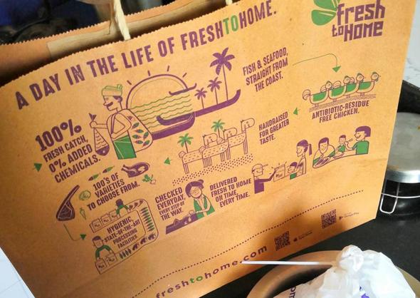 משלוחי דגים טריים של Fresh To Home , איחוד האמירויות