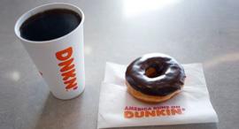 דנקן דונאטס סופגנייה קפה הרשת נמכרת ב-8.8 מיליארד דולר, צילום: בלומברג