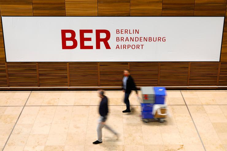 נמל התעופה החדש. נפתח בעיצומו של משבר תעופה עולמי בשל מגפת הקורונה, צילום: איי פי