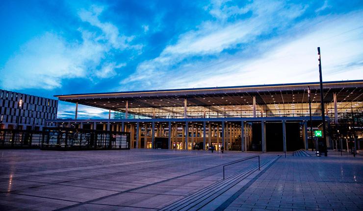 נמל התעופה החדש. בעלות של 7 מיליארד יורו, צילום: גטי