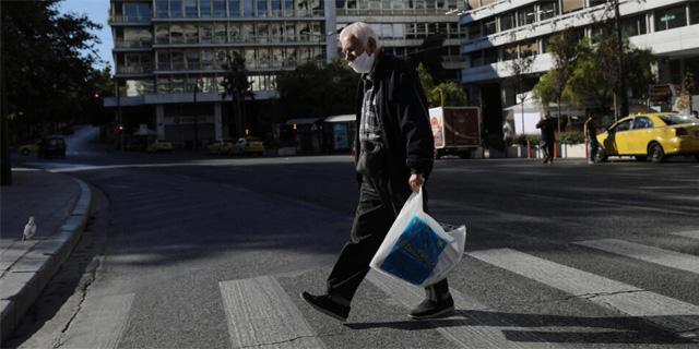 אתונה בסגר, צילום: רויטרס