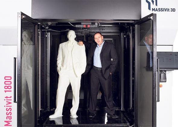Massivit 3D's CEO, Erez Zimerman. Photo: Massivit