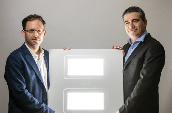 Juganu founders Eran Ben-Shmuel and Alexander Bilchinsky. Photo: Juganu